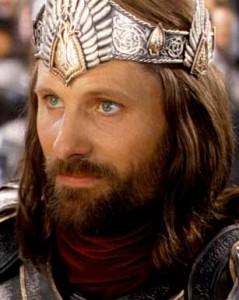 Aragorn, Mužská sila, Cesta k sebe,